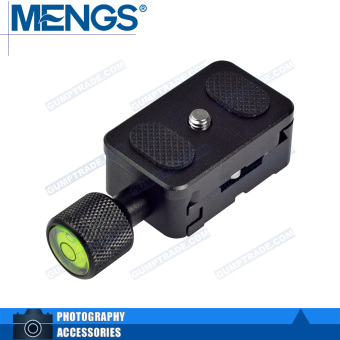 MENGS K30 Camera Adjustable Clamp + Quick release Plate