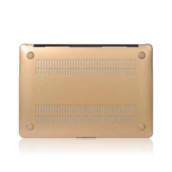 Harga Metal Shell Protective Case For Apple Mac-book Air 13.3 Inch (Gold)- Intl