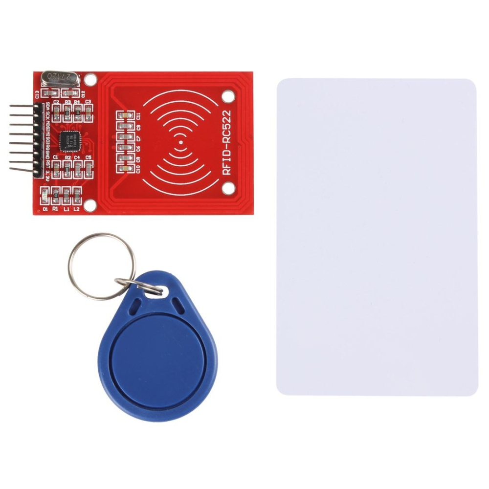 Buy Mfrc 522 Rc522 Rfid Integrated Circuit Card Inductive Module Where To With Key Chain Intl Singapore