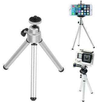 Mini Portable Aluminum Alloy Tripod Camera Accessory for GoProPhone - intl - 2