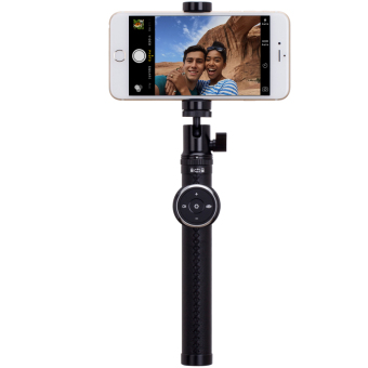 MOMAX Selfie Pro 90cm Selfie Stick Monopod with Bluetooth RemoteShutter - Black