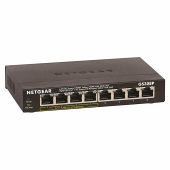 Netgear GS308P 8-Port Gigabit Ethernet Switch with 4 PoE Ports