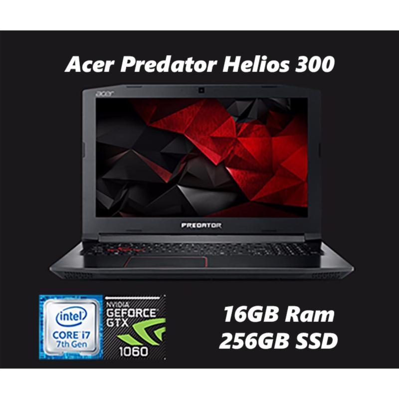 "New Acer Predator Helios 300 15.6"" Gaming Laptop - 17-7700HQ, GTX1060 6GB, WIN10"