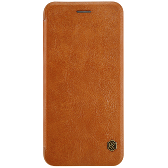 Nillkin Leather Case Cover Phone Bags For Apple iPhone 7 Plus(Brown) - 2