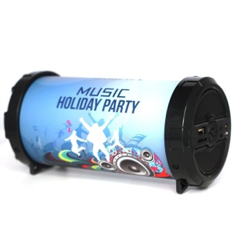 Outdoor bluetooth speakers Retro stereo usb TF card MP3 FM radio -intl