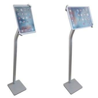 p15 avr ipadtablet floor stand with lock - Ipad Floor Stand