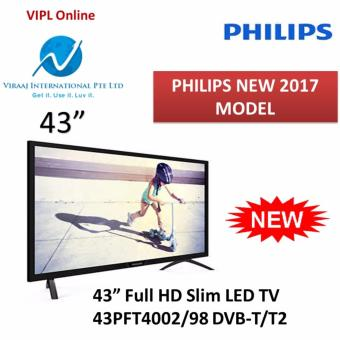 Philips 43PFT4002/98 4000 series Full HD Ultra Slim LED TV DVB-T/T2