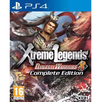 Harga PS4 Dynasty Warriors 8: Xtreme Legends Complete Edition (R2)