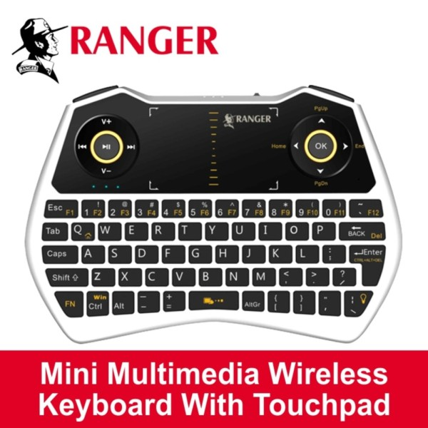 Ranger Mini Multimedia Wireless Keyboard Singapore