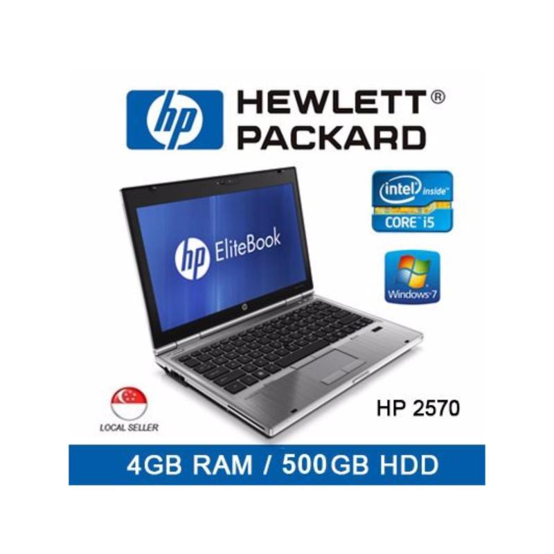 Refurbished HP 2570 Laptop / 12.5 Inch / Intel I5 / 4GB RAM / 500GB HDD / Euro Keyboard / Window 7 / 1mth Warranty