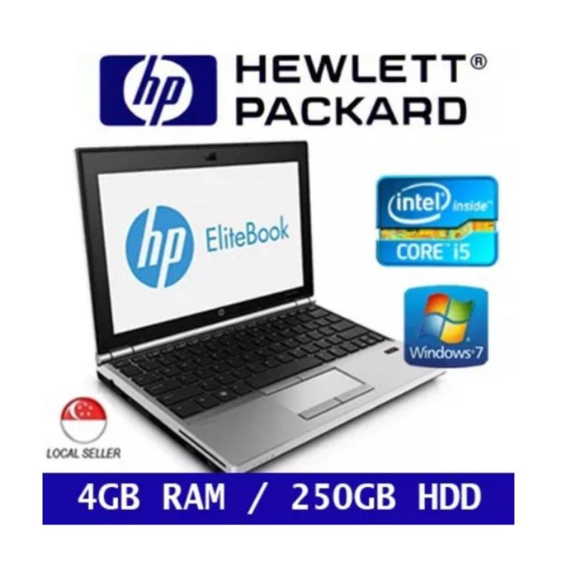 [Refurbished] HP EliteBook 2170p Intel Core i5 4GB RAM 250GB HDD 3rd GEN Windows 7 Laptop (Silver)