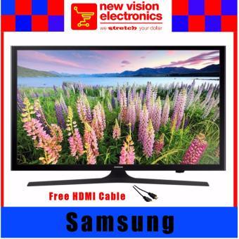 """Samsung UA40J5200 40"""" Smart DVB (Digital) LED TV.Safety Mark Approved.(Black). Free HDMI Cable"""