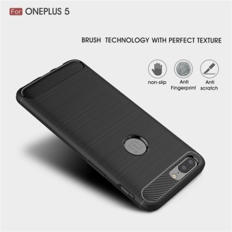 Soft Drawing Silicone Back Cover Case For One Plus 5 / One Plus Five - intl - 5