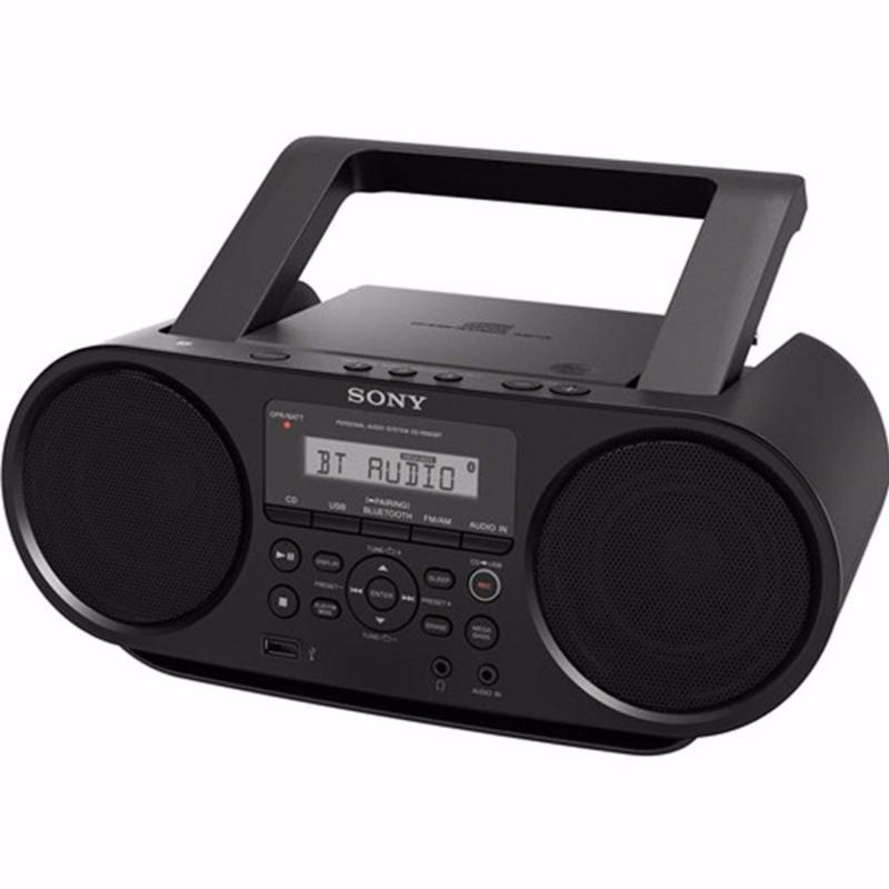 SONY ZS-RS60BT Boombox with Bluetooth (Black) Singapore