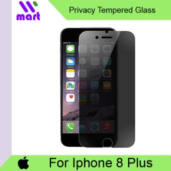 Tempered Glass Screen Protector (Privacy) For Apple Iphone 8 Plus