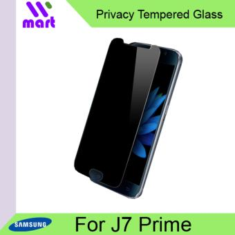 Tempered Glass Screen Protector (Privacy) For Samsung J7 Prime