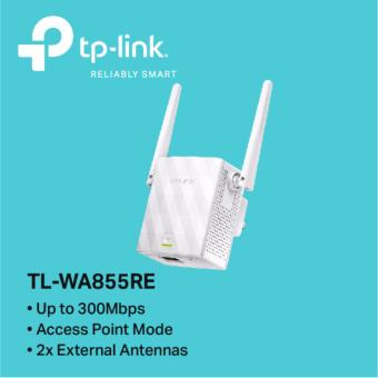 TP-LINK - TL-WA855RE 300Mbps Wi-Fi Range Extender / Access Point Mode