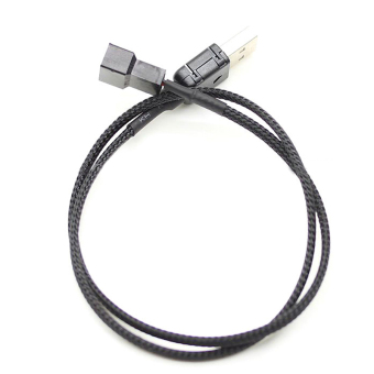 Harga USB A male to Fan 2-Pin/3-Pin 3pin /4-Pin 4pin Adapter Cable for 5V- intl