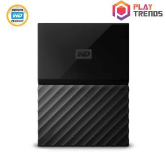 WD MY PASSPORT PORTABLE STORAGE - BLACK 1TB/2TB/4TB