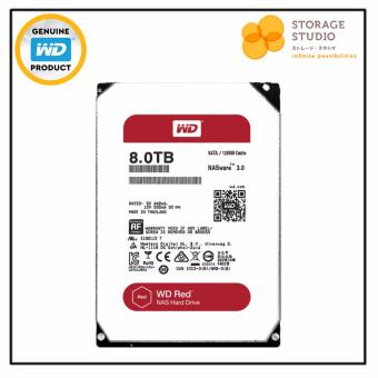 Harga WD RED 8TB NAS Hard Disk 5400RPM 128MB Cache