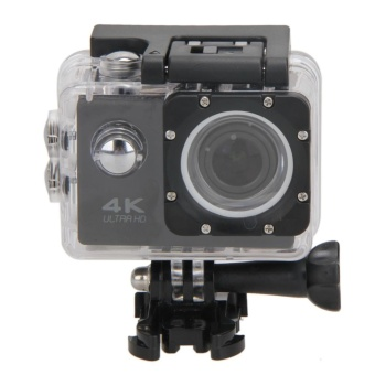 WiFi 4K HD 1080P 12MP Waterproof Sport DV Video Action CameraCamcorder - intl