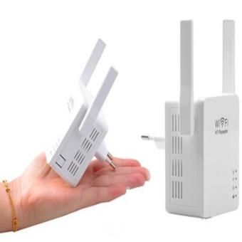 Wireless-N WiFi Repeater with Dual Antenna and USB Port