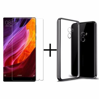 Xiao Mi Mix Premium TPU Case With Tempered Glass Screen Protector