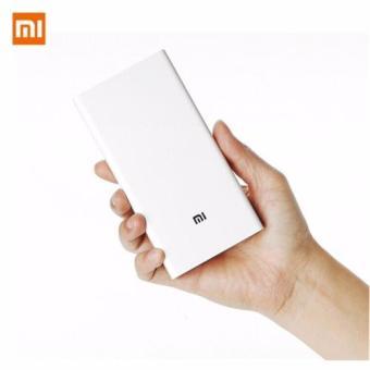 Xiaomi Original Mi 20000mAh Power Bank External Battery Charger White