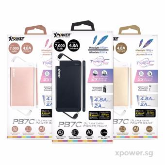 XPower XP-PB7C Quick Charge 3.0 Ultra Thin Type-C Power Bank - 5