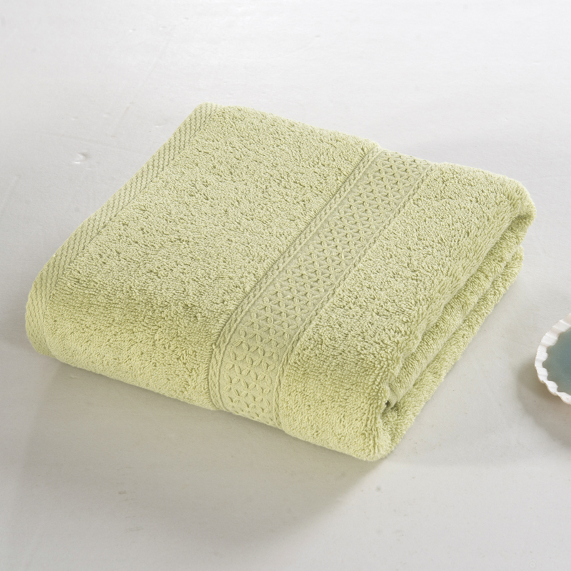 12 cotton solid color adult not bath towel