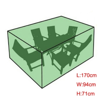 170x94x71cm Waterproof Outdoor Garden Patio Furniture Cover TableChair  Shelter Part 58