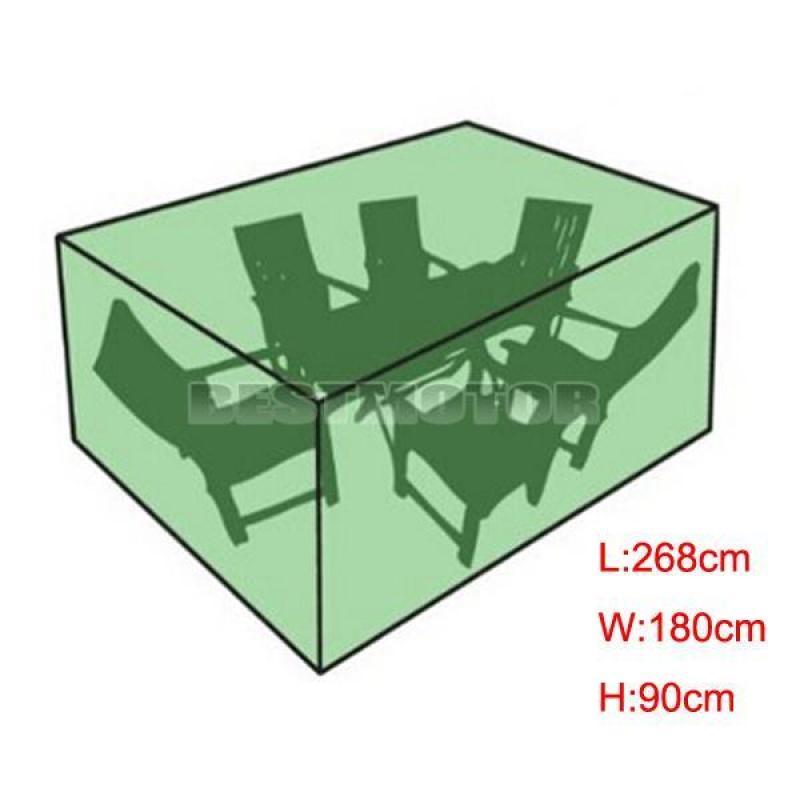 180x268x90cm Waterproof Outdoor Garden Patio Furniture Cover Table Square Indoor
