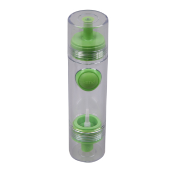 2 in 1 Cooking Olive Oil Sprayer Dispenser Cruet Kitchen Pastry Tool(Green)