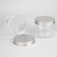 20PCS/LOT 150ml plastic pet jar, food jar with pull ring, nuts pet bottle clear - Intl