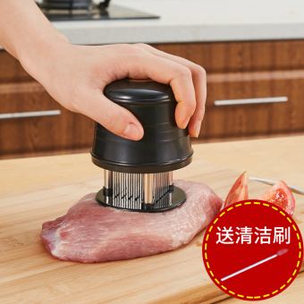 Harga 304 stainless steel steak 56 hit the meat knock meat to play loosemeat needle