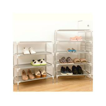 Harga 5 Layer Multi-layer Portable Shoe Rack