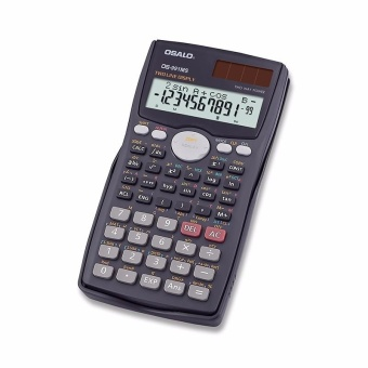 Harga 991MS Student Function Scientific Calculator 401 Multifunctional 10+ 2 Digits 2 Row Display Matrix Solution Equation Group - intl