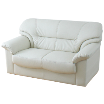 Andre Sofa-2P (Ivory) (Free Delivery)