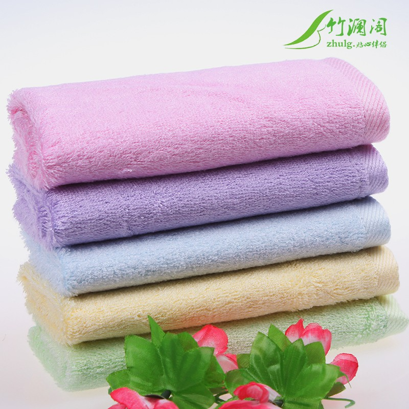 Bamboo LAN house bamboo fiber bamboo cotton large square towel small towel soft absorbent beauty towel bamboo infants and children towel