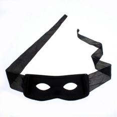 Bandit Zorro Masked Man Eye Mask for Theme Party Masquerade Costume Halloween Black - intl