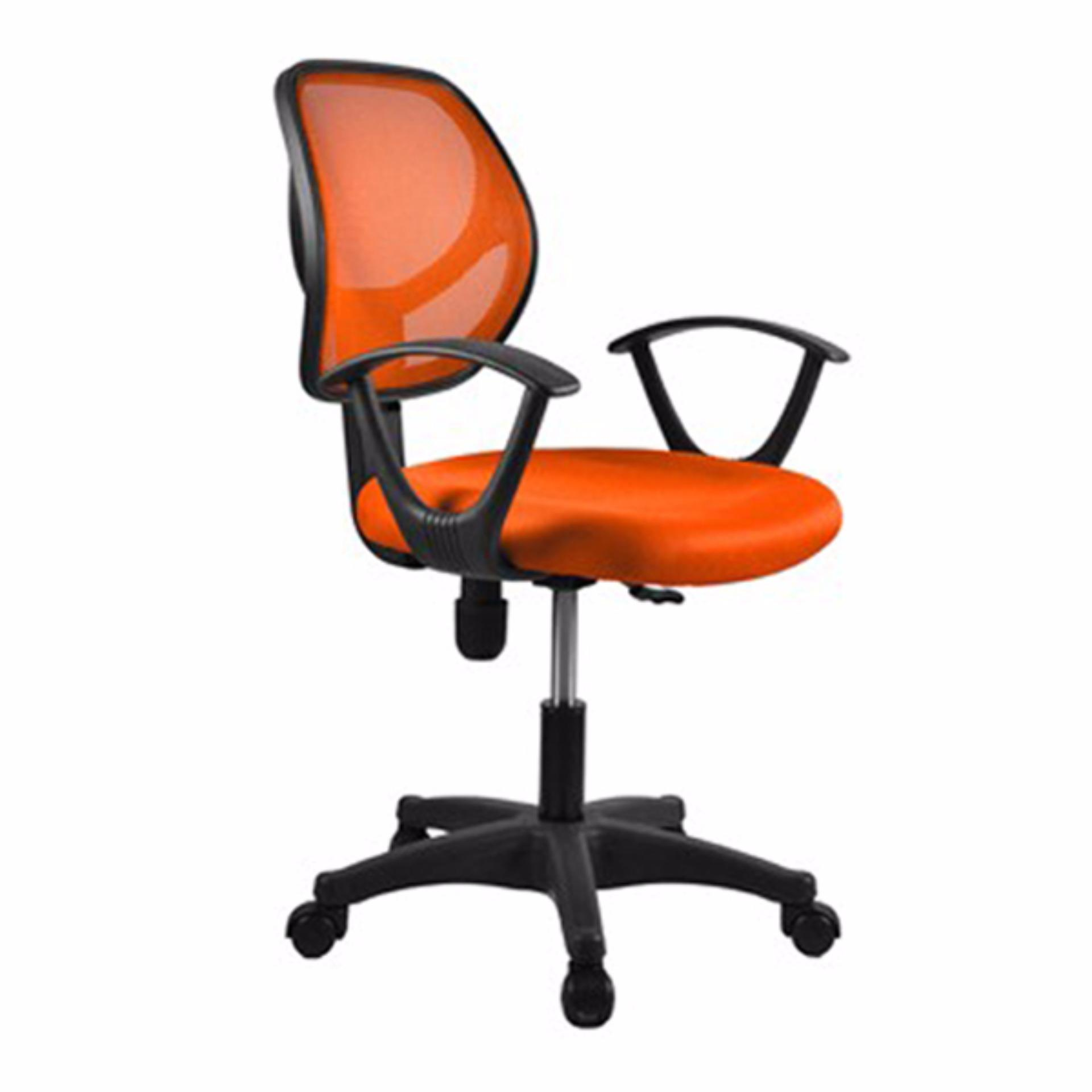 Basic Office Chair Rein S02 Orange Delivery Weekdays Before 6pm Singapore