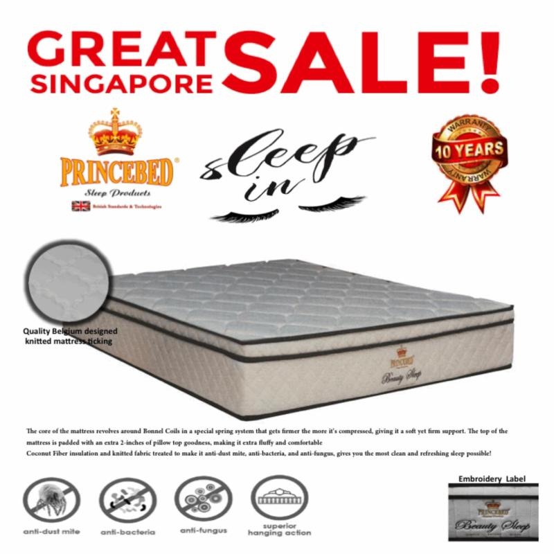 Beauty Sleep Euro Top Orthopedic Posture Super Single 10 Inch Spring Mattress