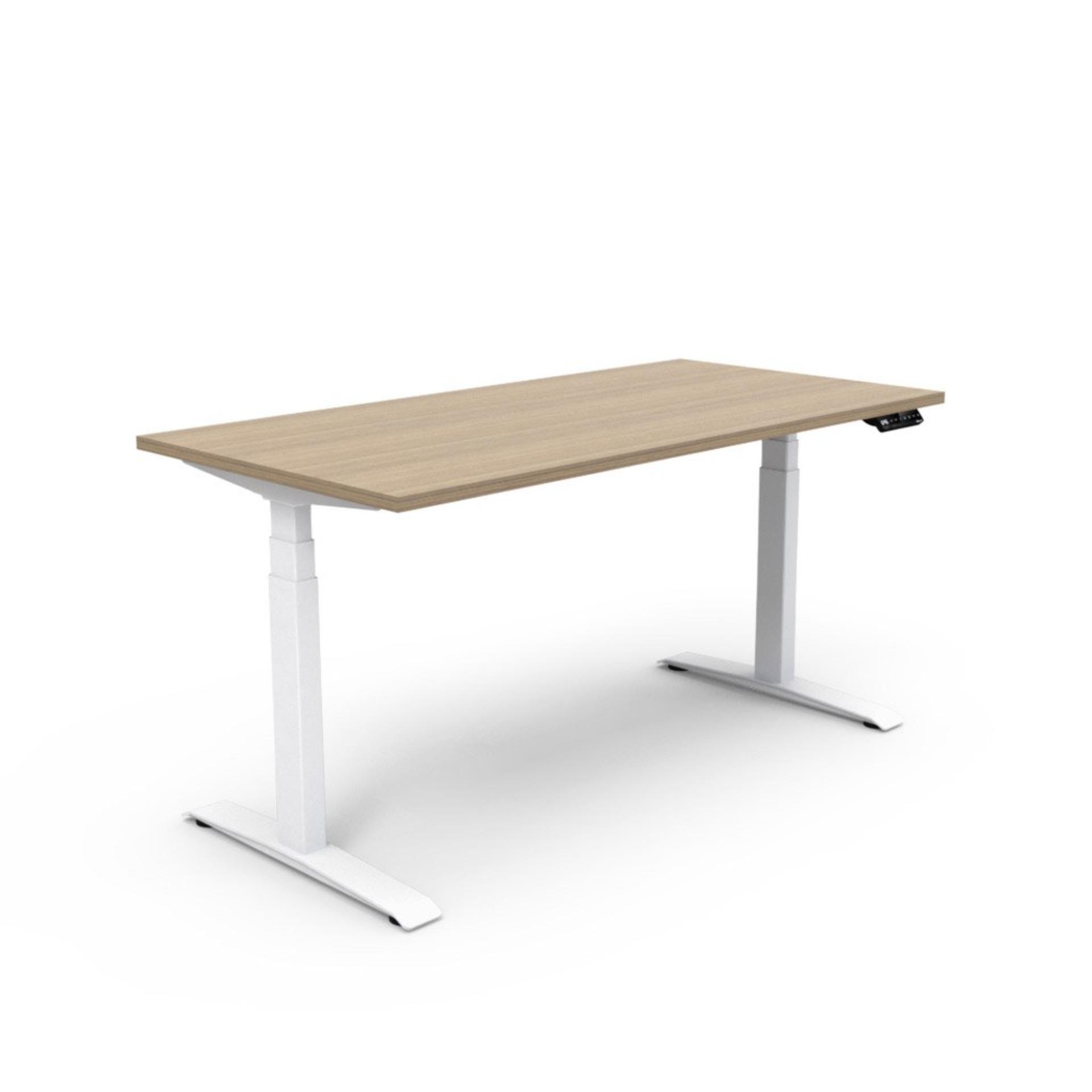 Delightful Benel Adjust Rectangular Height Adjustable Table (75cm X 180cm) Singapore