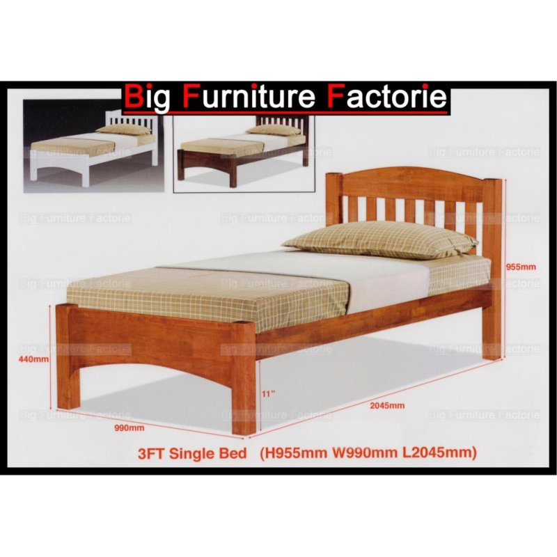 BFF-50-WB Solid Wooden Bed