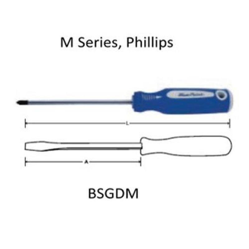 BluePoint Screwdriver M Series Phillips  [BSGDM/PH]