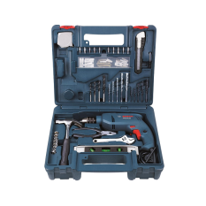 Bosch GSB 1300 XL Impact Drill Kit with 100pcs Hand Tools & Accessories  Singapore