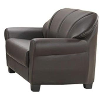 Bradford Leather Sofa 3 Seater (Dark Brown) (Free Delivery) - 4