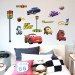 Can Be Removed Cartoon Wall Stickers Childrens Room Bedside Creative  Decorative Cars Story Sticker Wall Painting Part 84