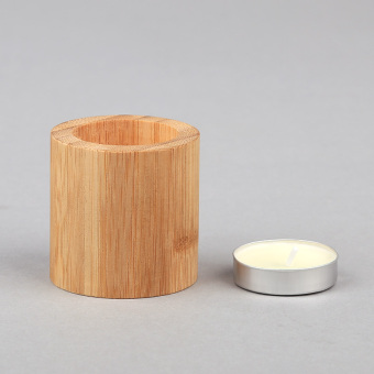 Candlelight bamboo west restaurant candle bar candlestick Candlestick