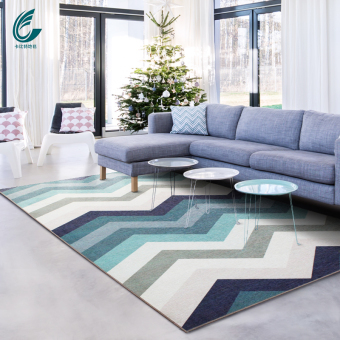Card Bit Minimalist Short Fiber Living Room Sofa Coffee Table Bedside Mat  Rug